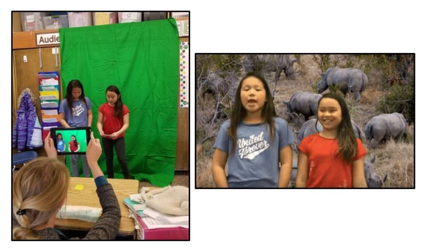 Green Screen Workshop: Children Report on News that is Important to Them